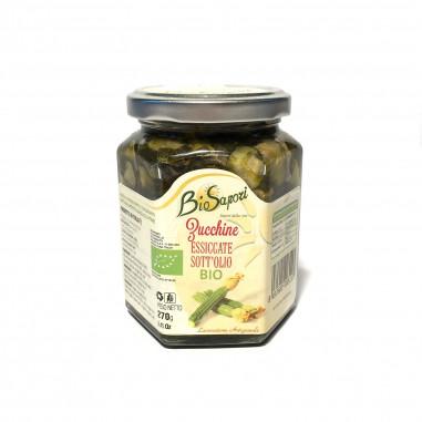 Zucchine essiccate bio sott'olio