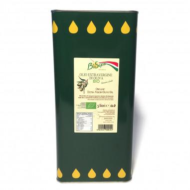 Olio extravergine di oliva Bio - 5 L